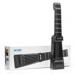 The jamstik+ is a digital guitar that works wirelessly (Bluetooth) with your devices and our apps to finally teach you how to play guitar. It comes with an interactive guitar lesson app series and works with a multitude of other music apps...