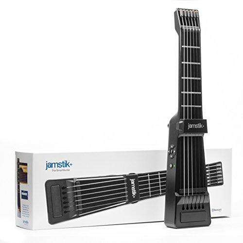 Jamstik+ Black Portable App Enabled MIDI Electric Guitar, for Beginners and Music Creators, iOS, Android & Mac Compatible, with Bluetooth Connectivity, Powered by Zivix by Zivix (Image #11)