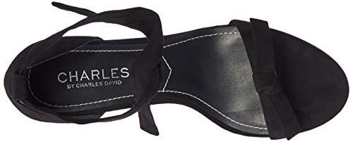 by Charles Sandal Women's David Charles Nova Black Dress CdfUqq