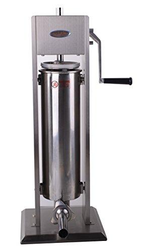 Hakka 15 Lb/7 L Sausage Stuffer 2 Speed Stainless Steel Vertical Sausage Maker ()