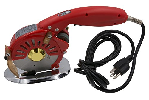3-Speed Electric Rotary Cloth, Leather & Multi-Layer Fabric Cutter, 4-Inch Round Blade (compare with Allstar AS100/AS-100 and Reliable 1500FR) (3-Speed Octagonal Cutter) (Electric Cutting Machine Fabric compare prices)