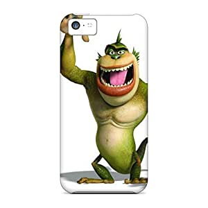 Scratch Protection Hard Phone Case For Iphone 5c With Support Your Personal Customized Beautiful Monster Image KennethKaczmarek