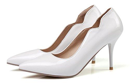 Hauts Talons Femme Fille Aiguilles Blanc Bride Aisun Sexy Cheville Escarpins tw6wH