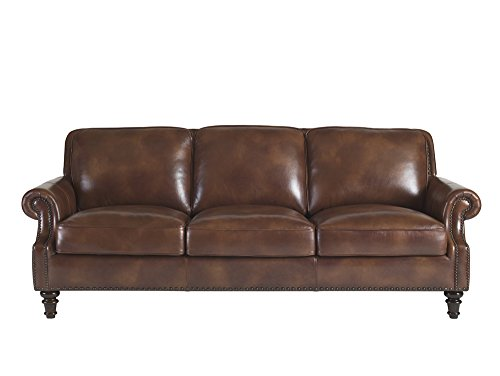 Lazzaro Bentley Sofa, 92 by 43 by 35-Inch, Rustic Savauge