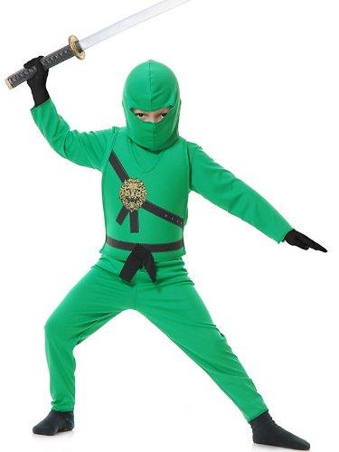 Ninja Avenger Costume Green (Ninja Avenger Costume - X-Large)