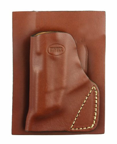 Hunter Full-Grain Leather Pocket Holster for Concealed Carry: Ruger LCP 22/25 Small Autos