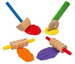 ALEX Toys Artist Studio Wooden Dough Tools Set 12 Piece