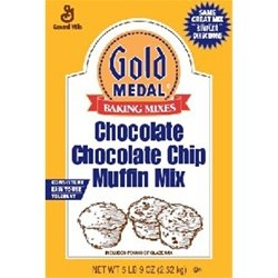 Gold Medal Chocolate Chocolate Chip Muffin Mix 6 /5.51bs by General Mills