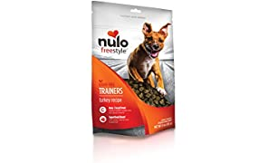 Nulo Puppy & Adult Freestyle Trainers Dog Treats: Healthy Gluten Free Low Calorie Grain Free Dog Training Rewards - Turkey Recipe - 4 Oz Bag