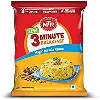 MTR 3 Minute Breakfast Magic Masala Upma Pouch, 60g