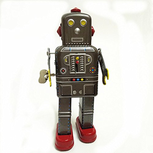 Space Man Robot Wind Up Tin (Spaceman Tin Robot)