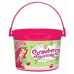 Strawberry Shortcake Party Favor Container
