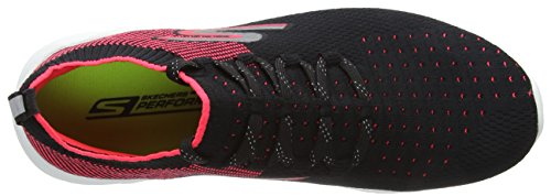 Run Pink schwarz Hot Performance Schwarz Skechers Damen 6 Go Hallenschuhe Black w1tpvqgp
