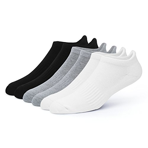 Performance Mens Cut Low Socks (Men's Running Low Cut Socks Performance Comfort Athletic Cushion Tab Sock (6 Pairs))