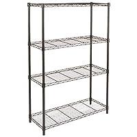 AmazonBasics 4-Shelf Shelving Unit