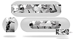 Sexy Girl Silhouette Camo Gray Decal Style Skin - fits Beats Pill Plus (BEATS PILL NOT INCLUDED)