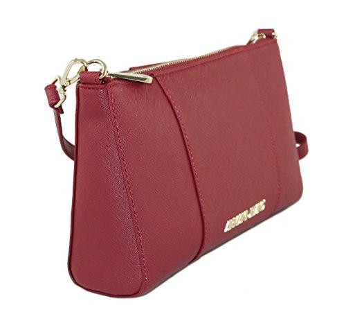 Armani Jeans Tasche Bag Crossbody Bag in Saffianolederoptik 922544 bordeaux