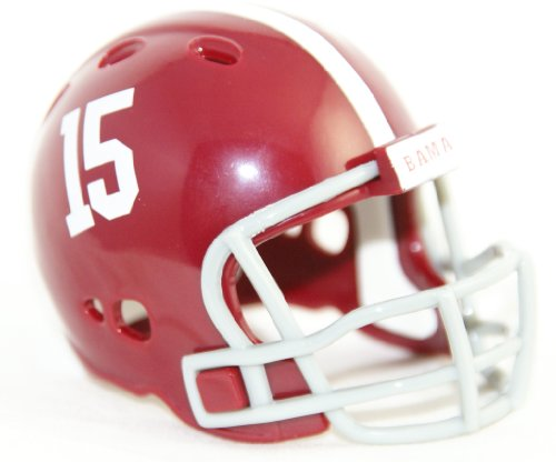 ALABAMA CRIMSON TIDE NCAA Riddell Revolution POCKET PRO Mini Football Helmet ()