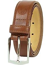 Weatherproof Cinturón casual reversible con hebilla giratoria para hombre