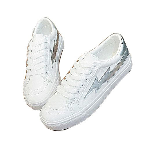 Walking White08 Shoes Shoes New Better Annie Shoes Woman Projects Women White Casual Ladies Spring Sneakers Lace up Common Shoes Fashion H6wpqwPB4F