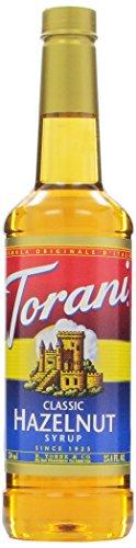 Classic Hazelnut Syrup (Torani Syrup, Classic Hazelnut, 25.4 Ounce (Pack of 4))