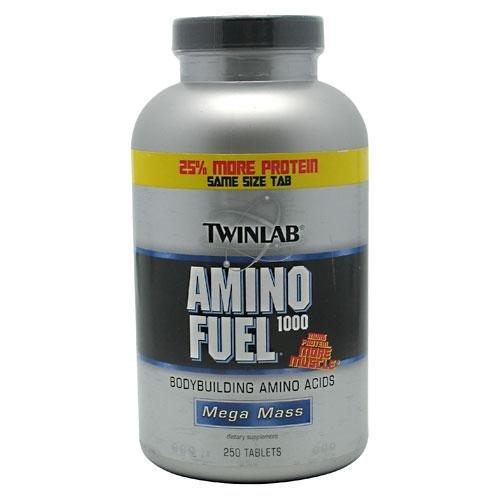 Twinlab Amino Fuel 1000 acides aminés  250 Caps