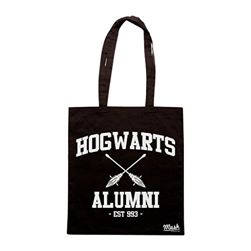 Borsa HUFFLEPUFF QUIDDITCH HARRY POTTER - Nera - FILM by Mush Dress Your Style