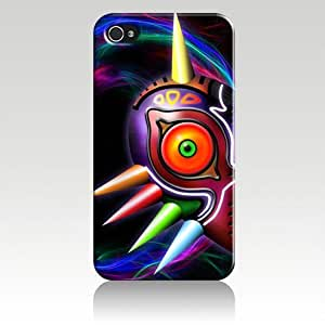 The Legend of Zelda Mask Hard Case Skin for Iphone 4 4s Iphone4 At&t Sprint Verizon Retail Packing.