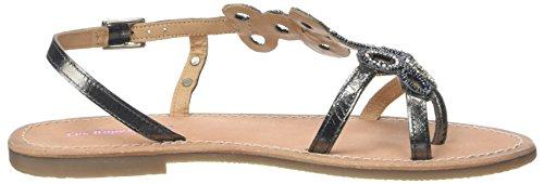 Les Tropéziennes par M. Belarbi Women's Oups Sling Back Sandals Grey (Etain/Argent 265) vUhhG5v
