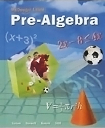 McDougal Littell Pre-Algebra: Chapter Test Reviews &Teacher's Edition (English-Spanish)