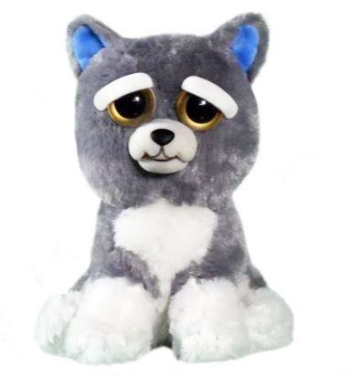 William Mark- Feisty Pets: Sammy Suckerpunch- Adorable 8.5″ Plush Stuffed Dog
