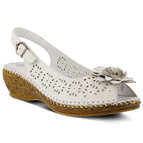 Spring Step Women's Belford Sandals White
