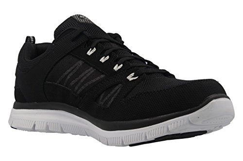 SKECHERS in Herren Advantage Schwarz Flex Sneaker Flex SKECHERS 脺bergr枚脽en Schuhe T8qpwdd