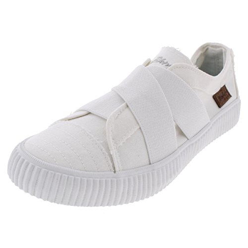 Blowfish Cayo Women's Canvas Casual Fashion Sneakers Shoes White Size 5