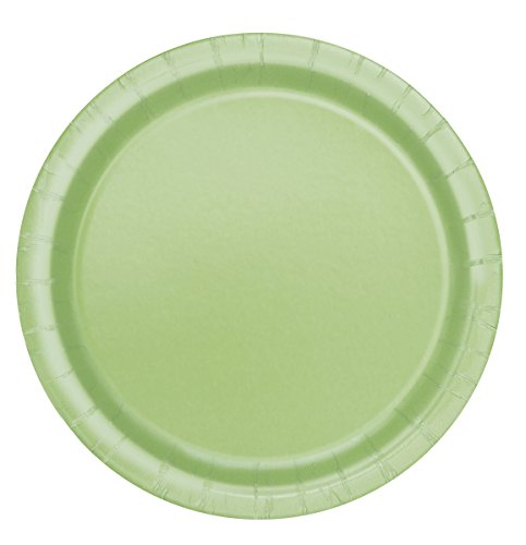 Apple Green Paper Cake Plates, 20ct Green Service Plate
