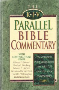 KJV/NKJV Parallel Bible with    book by Anonymous