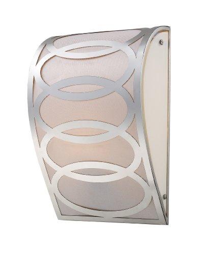 Table Anastasia Lamp (Elk 10170/1 Anastasia 1-Light Sconce In Polished Nickel)