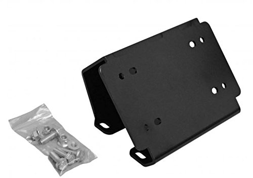 SuperATV Heavy Duty Winch Mounting Plate for Can-Am Defender (All Years)
