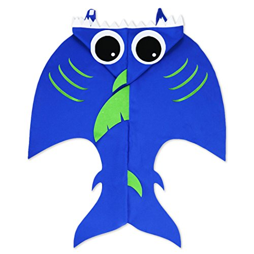 Toddler Shark Costume for Kids with Hat-Boys Girls Sea Themed Party Supplies for $<!--$15.90-->