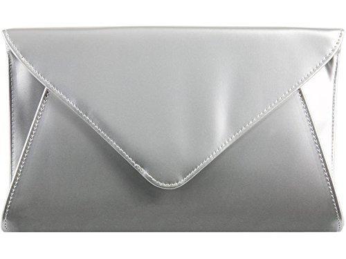 Clutch Ladies Evening Retro Purse Handbag Prom Bridal Party Envelope Patent Womens Sxx8HqRZ