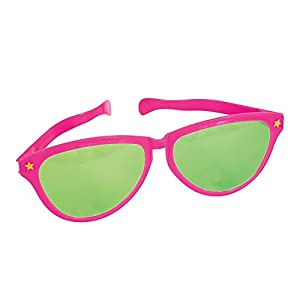 Giant Hot Pink Novelty Sunglasses