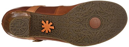 Montants Art Femme Chaussons Henna Orange Wax Salzburg 80q4HBRP