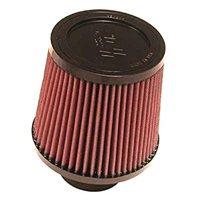 K&N Universal Clamp-On Air Filter: High Performance, Premium, Washable, Replacement Filter: Flange Diameter: 2.75 In, Filter Height: 5.5 In, Flange Length: 2 In, Shape: Round Tapered, RU-4960XD: Automotive