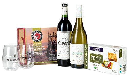 Hedges Family Estate Washington State Classics Gift Set with Copper River Smoked (Sauvignon Blanc Smoked Wine)