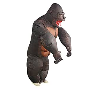 F Fityle Disfraz de Ninja Inflable Traje de Disfraces ...