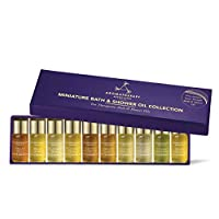 Aromatherapy Associates, colección de aceites de baño y ducha en miniatura, 10 x 3 ml