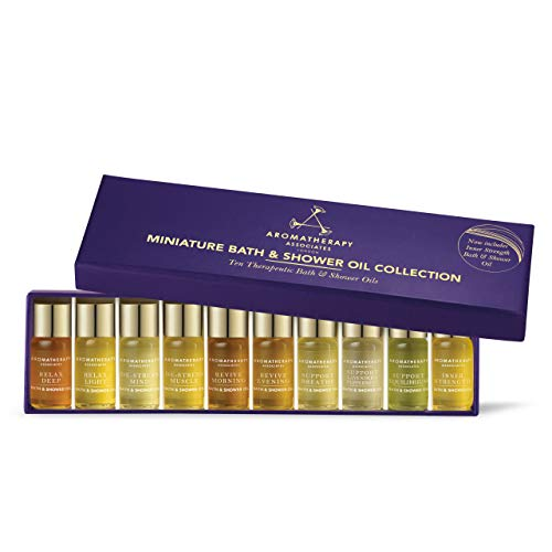 Aromatherapy Associates Miniature Bath And Shower Oil Collection, 10 x 3 ml