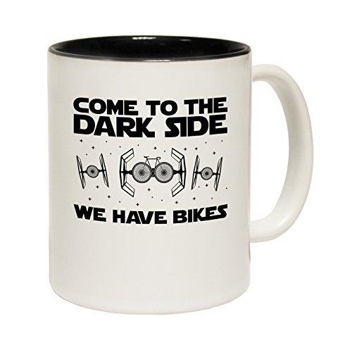 11Oz Small Cappuccino Funny Mug Come To The Dark Side We Have Bikes Bicycle Cyclist Cycling Mountain Bike Road Bmx Novelty Mug Coffee ()