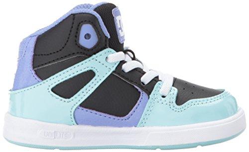 Multi Black Kid Rebound Kid Big DC Skate Shoe Little W01ZnqP8