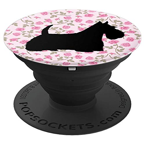 Scottish Terrier Scottie Dog - PopSockets Grip and Stand for Phones and ()